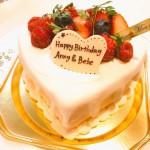 べべ公とお母さんの誕生祝い