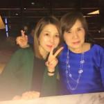 母と私の合同バースディ